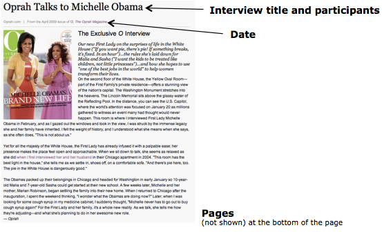 magazine apa format By chelsea lee apa style has special formatting rules for the titles of the book chapter, e-book chapter, newspaper article, magazine article, blog post.