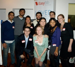 Some members of the EasyBib team!
